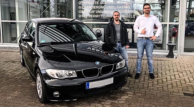 BMW 120i - Gebrauchtwagen - Herr Rukaber - Ein zufriedener Kunde!