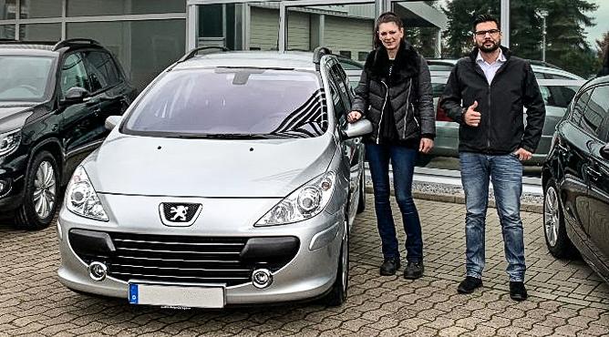 Peugeot 307 Break - Gebrauchtwagen - Frau Nölting - Eine zufriedene Kundin!