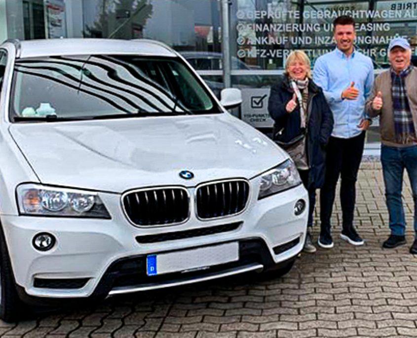 BMW X3 - Gebrauchtwagen - Frau und Herr Politowski - Glückliche Kunden!