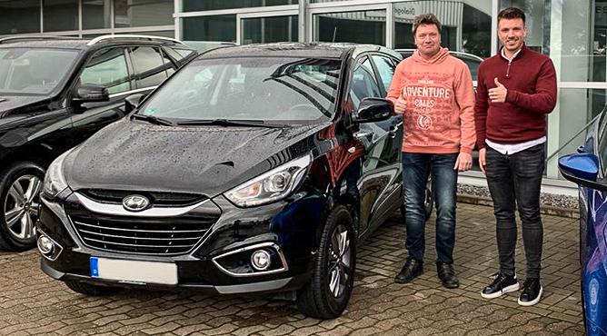 Hyundai ix35 - Gebrauchtwagen - Herr Flick - Ein zufriedener Kunde!