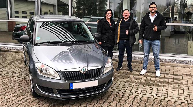 Skoda Fabia - Gebrauchtwagen - Familie Preger - Glückliche Kunden!
